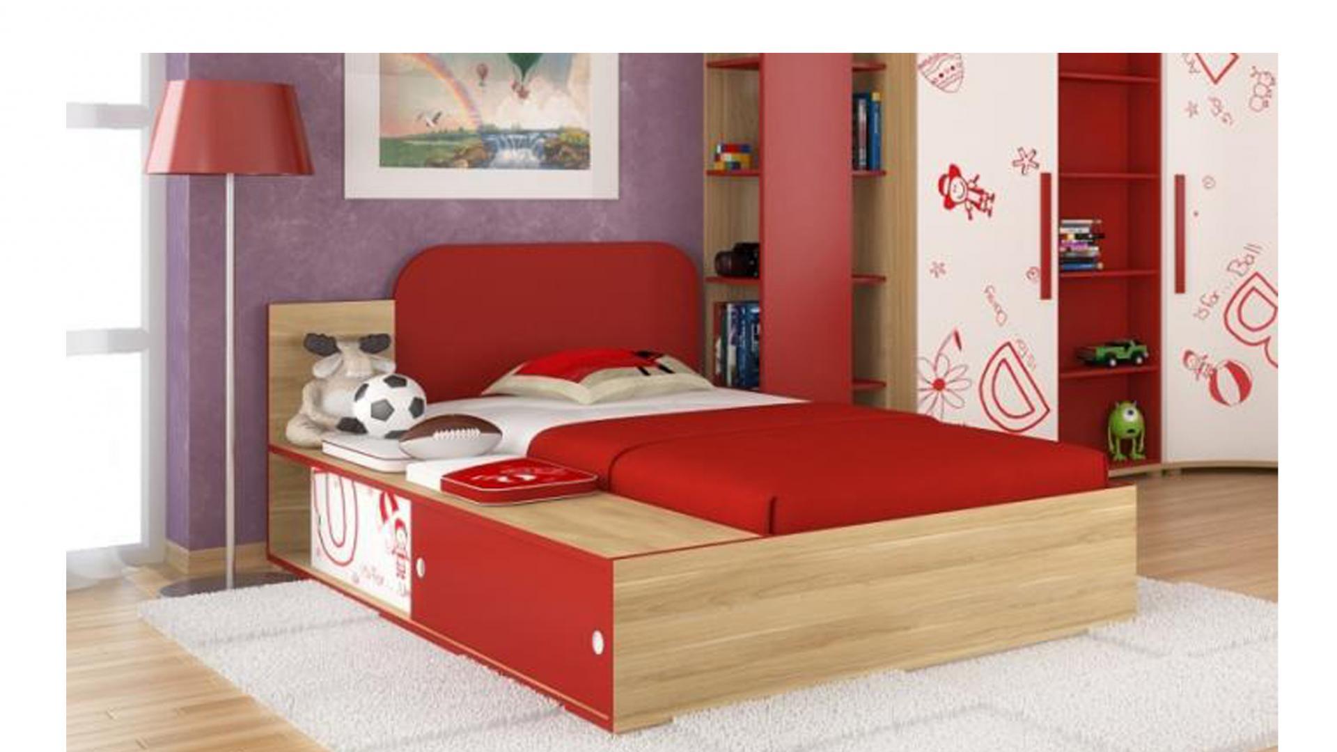 Кровать+Подушки Алфавит Лд 506.010