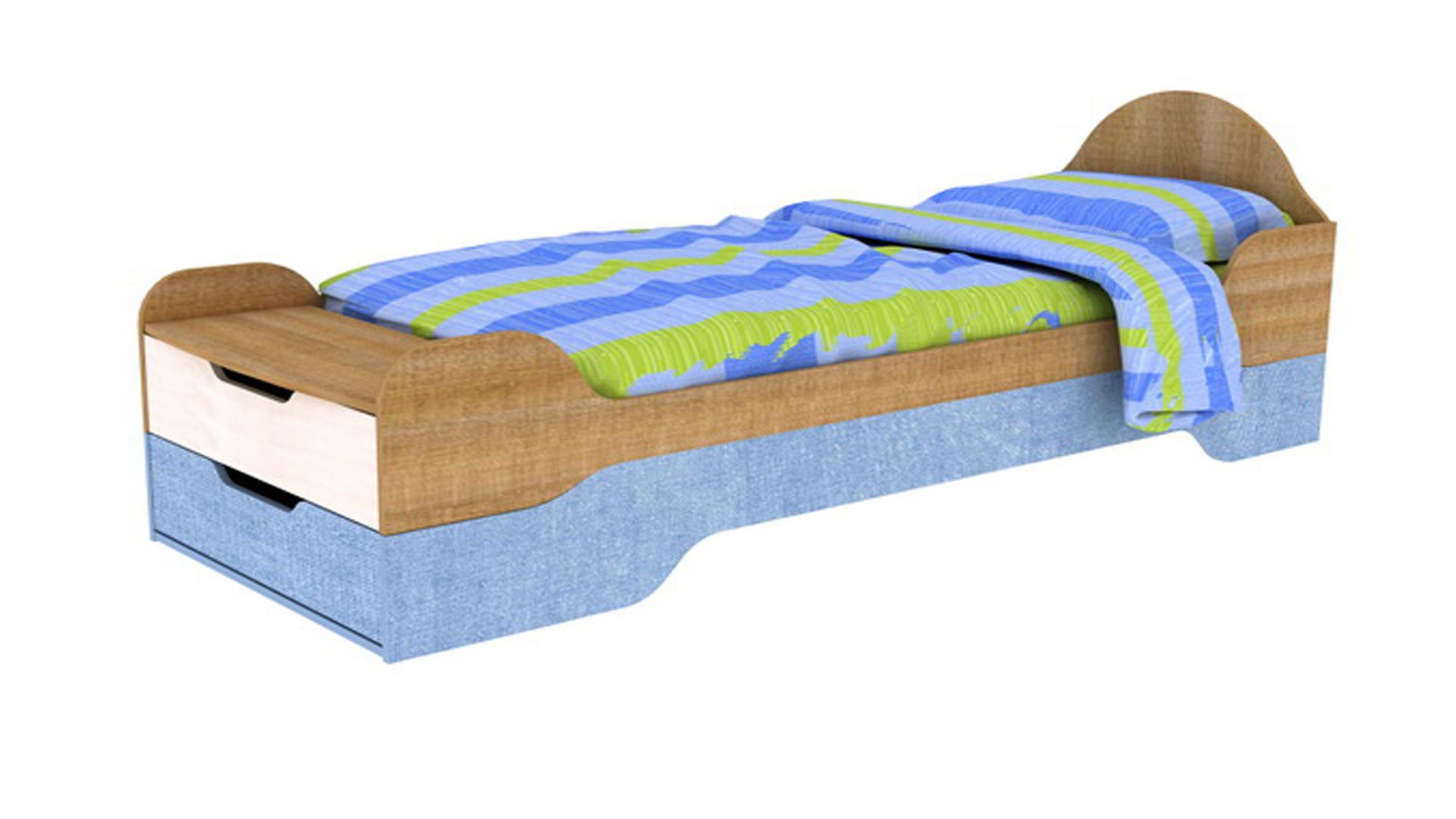 Кровать+Приставка-Бардачок Галилео