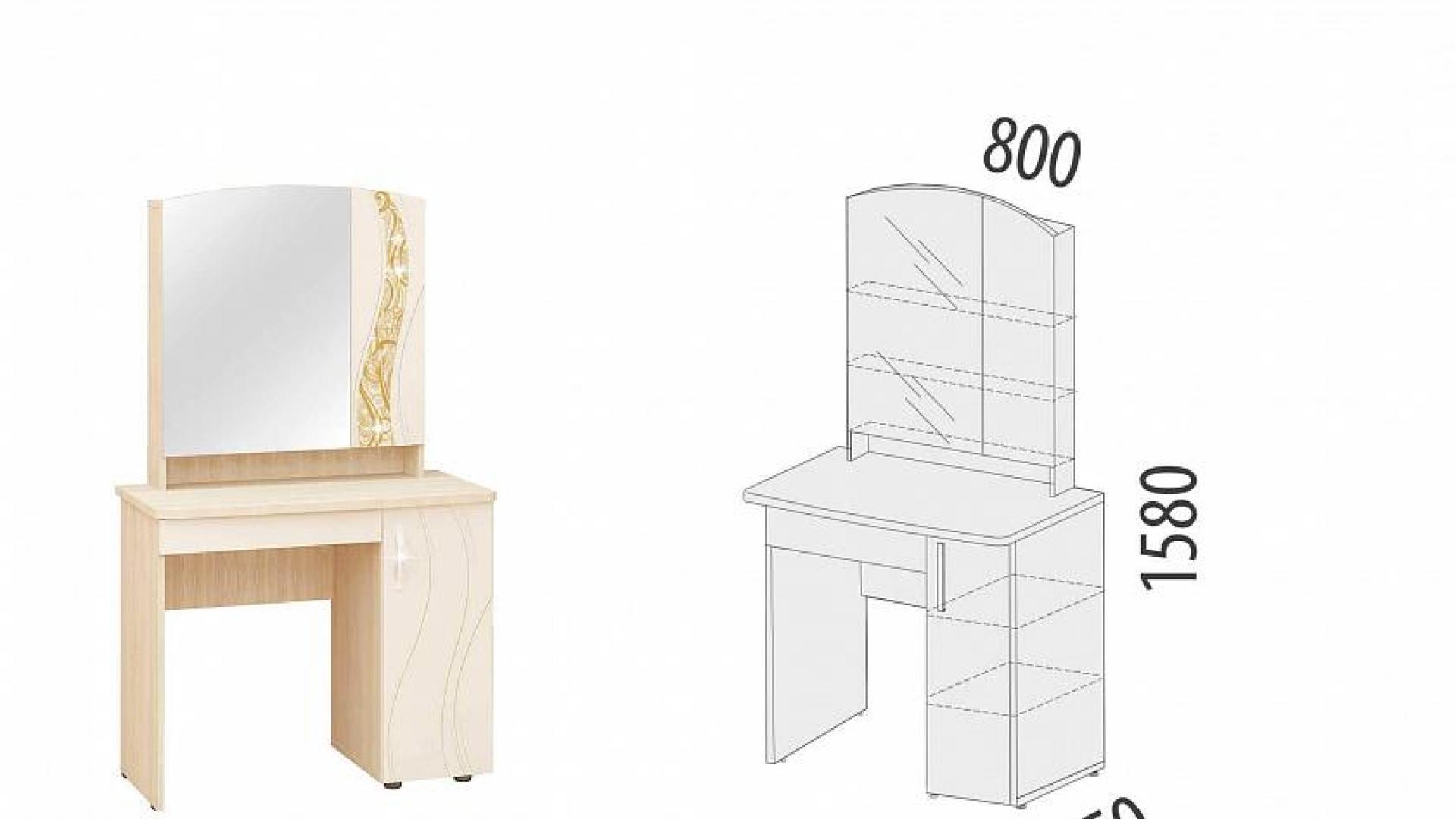 Туалетный Столик Соната 98.34.1