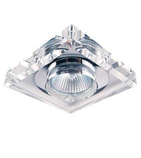 Светильник Solo Quad Mr16 Хром/прозрачный 002050