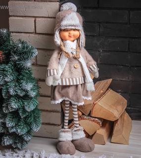 Кукла Интерьерная Маруся В Шапочке Ушанке 3134156