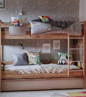 Кровать Двухъярусная 90 Nature