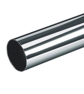 Труба Круглая 25*3000Мм, Толщина 0,9Мм, Хром