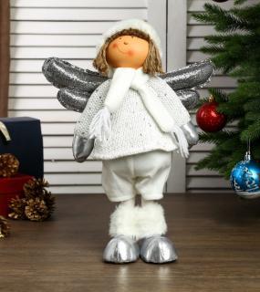 Кукла Ангелочек Веня В Белом Наряде