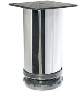 Опора Для Мебели Регулируемая 50*150Мм Хром