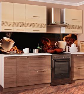 Кухня Гарда 2,0 М. Ваниль/вяз Швейцарский