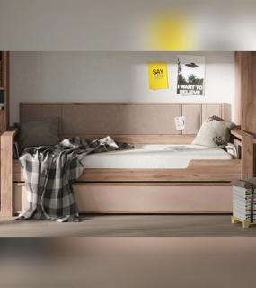 Кровать 80 + Спинка 97 Nature