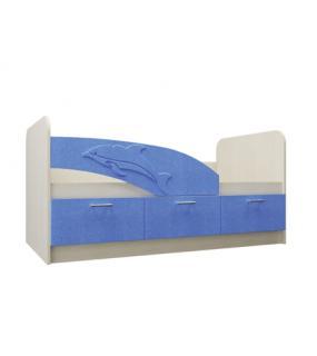 Кровать Дельфин 0,8*1,6 Мдф